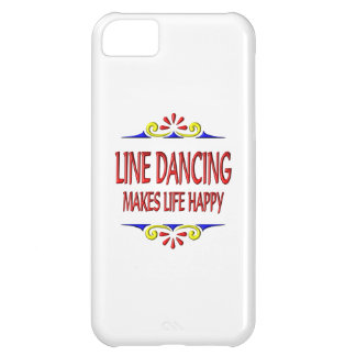 Line Dancing Makes Life Happy Cover For iPhone 5C