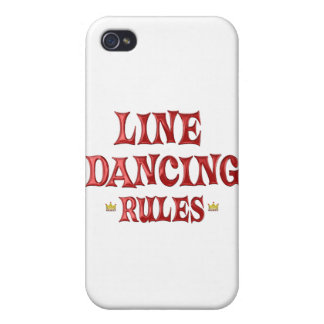 Line Dancing Rules iPhone 4/4S Covers