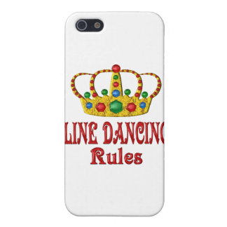 LINE DANCING RULES iPhone 5 COVER