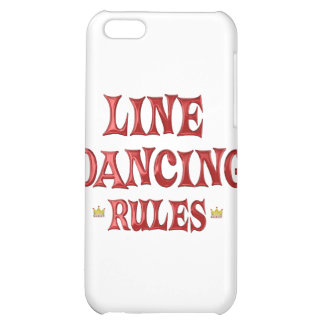 Line Dancing Rules iPhone 5C Cover