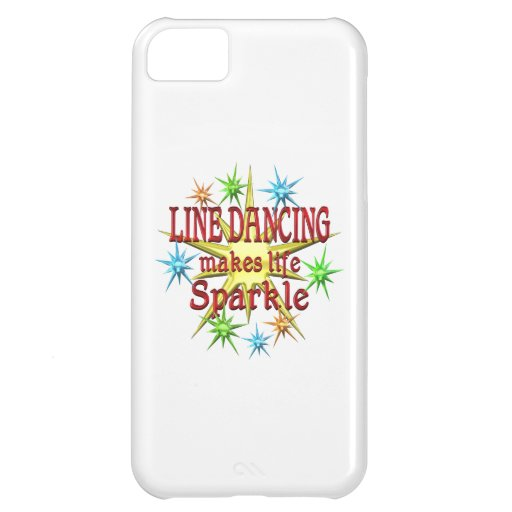 Line Dancing Sparkles Case For iPhone 5C