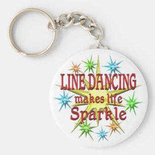 Line Dancing Sparkles Key Ring