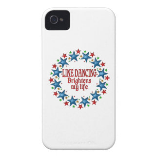 Line Dancing Stars iPhone 4 Case