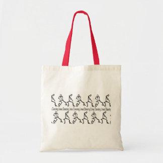 Line Dancing Tote Bag