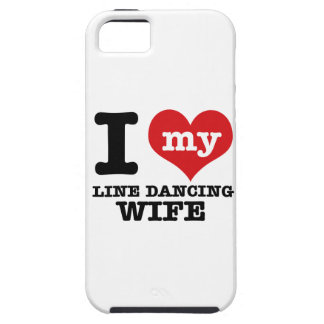 Line dancing Wife iPhone 5 Covers