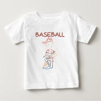 Line Drawing Baseball Tshirt