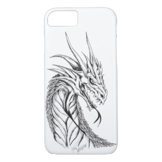 Line Drawn Dragon iPhone 8/7 Case