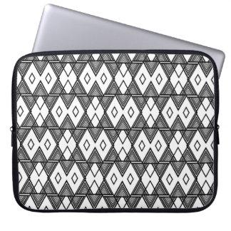 line graphic laptop sleve laptop sleeve