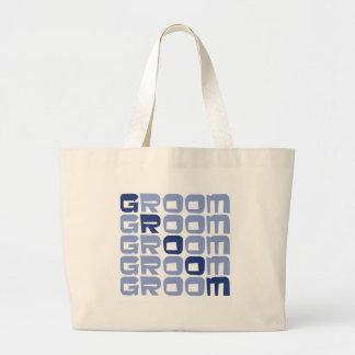Line Groom Gifts Canvas Bag