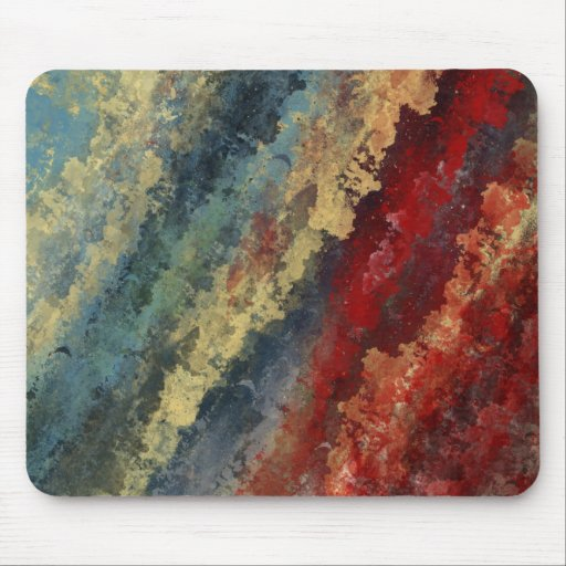 """Line in Time"" Abstract Art MousePad"