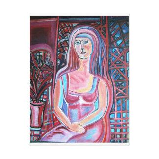 Line Modern Art By SJermann Canvas Print