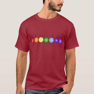 Line of 7 Chakras T-Shirt