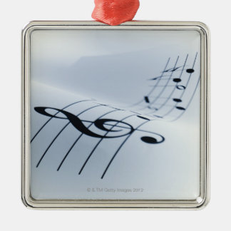 Line of Music Christmas Ornament