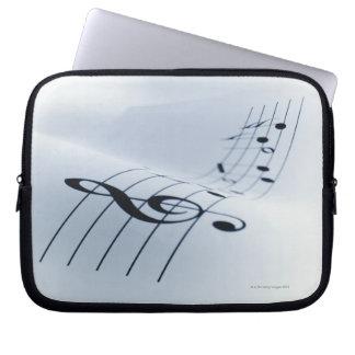 Line of Music Laptop Sleeve