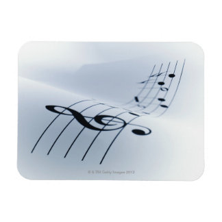 Line of Music Magnet