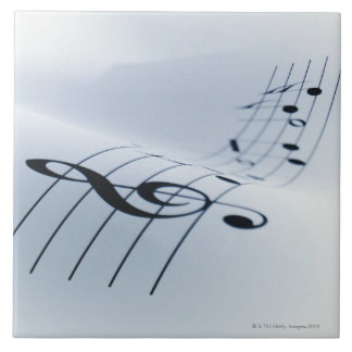 Line of Music Tile