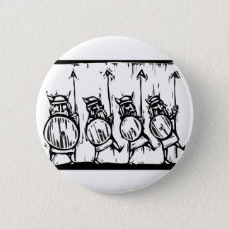 Line of Vikings 6 Cm Round Badge