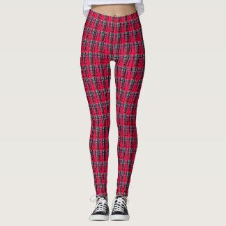 Line print leggings