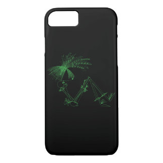 Line Times - iPhone 7 Case - Green Dance