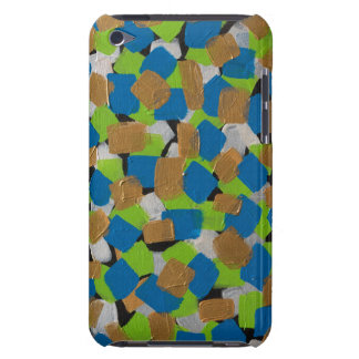 LineA Green Gold & Blue Case-Mate iPod Touch Case