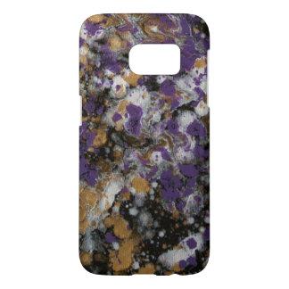 LineA Purple Gold Galaxy II Samsung Galaxy S7 Case