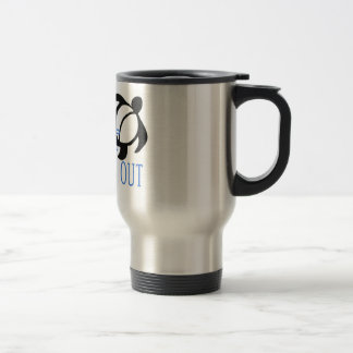 LineA Surf's Up Boards Out Travel Mug
