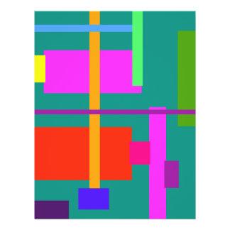 Linear Beauty Green 21.5 Cm X 28 Cm Flyer