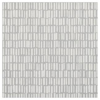 Linear, Modern Pattern - Sagamore - Grey Fabric