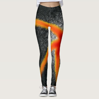 Linear Starfish - Leggings