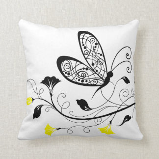 Lineart Butterflies American MoJo Pillows