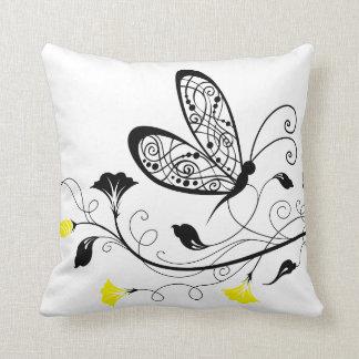 Lineart Butterflies American MoJo Throw Cushions