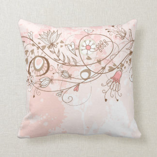 Lineart Flower Vines American MoJo Pill Cushions
