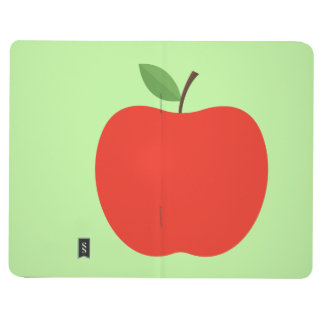 Lined Apple notebook