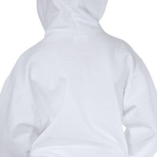 lined beige paper hoody
