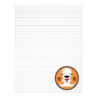 """Lined Binder Paper 8.5""""x11"""" Fits Avery Custom Flyer"""