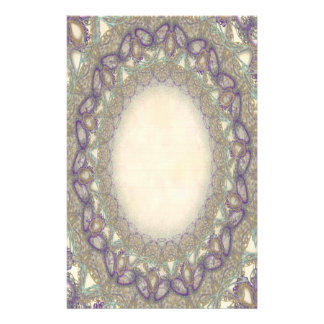 Lined Butterfly Lace p2 Stationery Pages