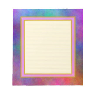 Lined Garden Sunlight Small Note Pad Notepad