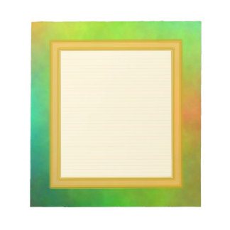 Lined Green Small Note Pad Notepads