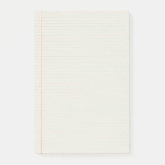 Lined Notebook Binder Paper Notes