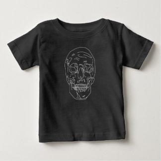 Lined Skull Baby T-Shirt