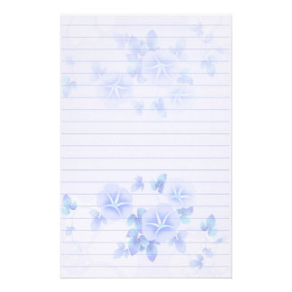 pretty floral custom stationery pretty floral stationery