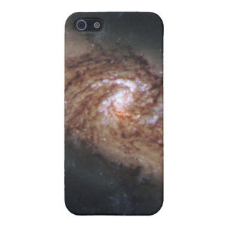 Lined-Up Galaxies Show Rare Details (NGC 3314) iPhone 5/5S Cases