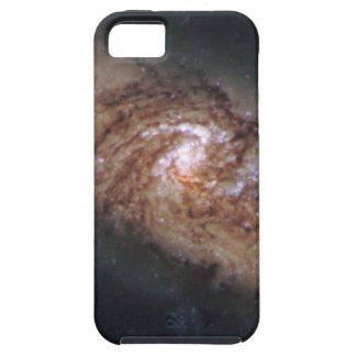 Lined-Up Galaxies Show Rare Details (NGC 3314) iPhone 5 Cases