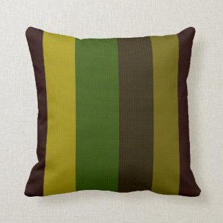Lined Yellow-Green Decor-Soft Modern Pillows