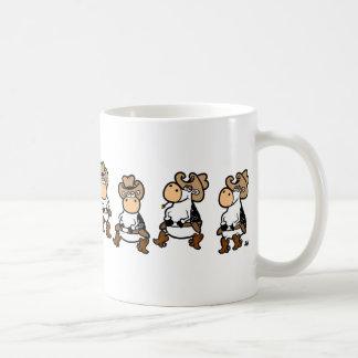 Linedancing Cows Coffee Mug