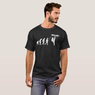 Lineman Human Evolution Funny Tshirt