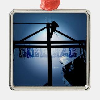 Lineman Ornament