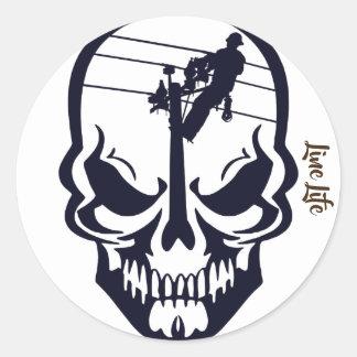 Lineman Sticker