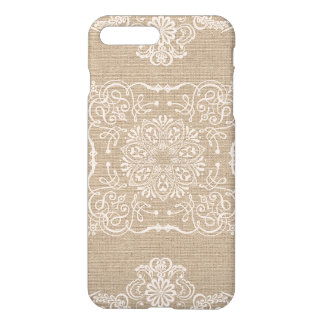 Linen and Lace Shabby Chic Phone Case