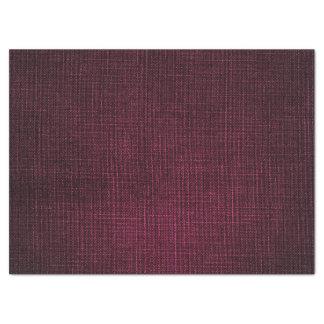 Linen Burgundy Bordeaux Rubin Bridal Wedding Birth Tissue Paper